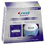 Crest 3D White matricák fehérítő lámpával