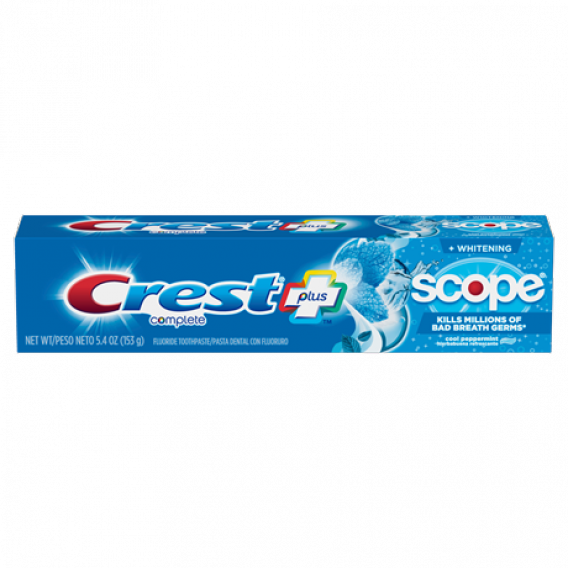 Crest Scope PEPPERMINT fogkrém